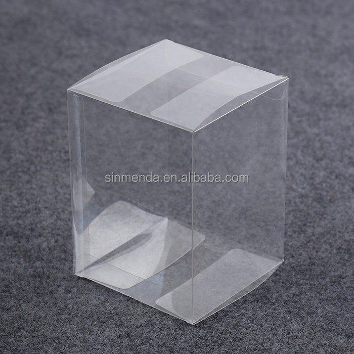 Clear tube pvc pet pp plastic packaging box