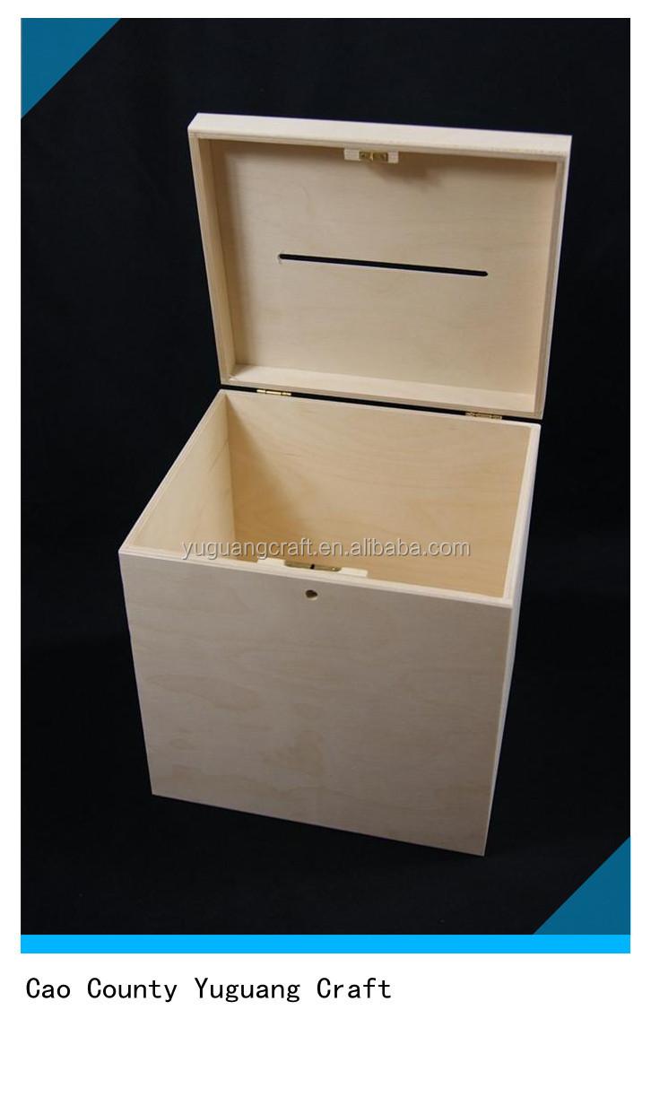 abschlie bare einfache holzbox f r hochzeitskarten buy kleinen ebene holz boxen holz. Black Bedroom Furniture Sets. Home Design Ideas