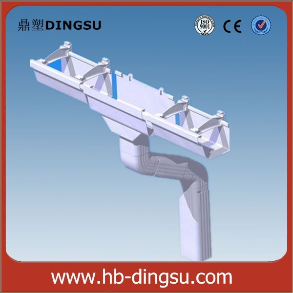 Pvc Drainage Pipe Rain Water Roof Drain Gutter System