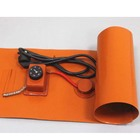12v 24v silicone rubber band heater for liquid gas tank