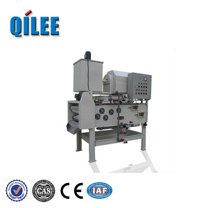 High Efficiency Small Belt Filter Press For Sludge Dewatering For Leather And Tannery Sludge