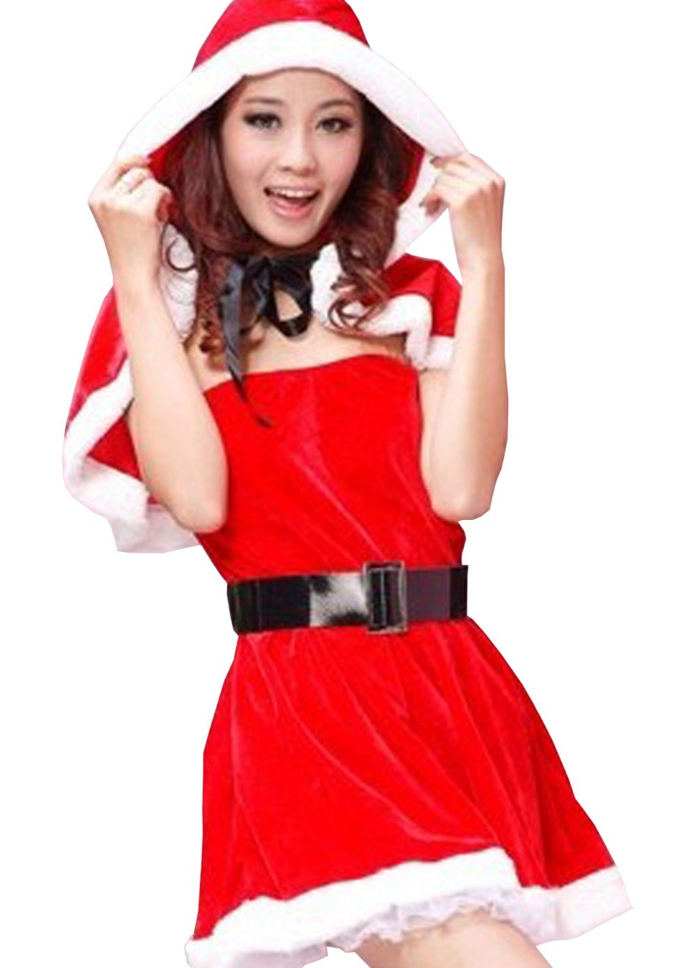 Get Quotations · Free Shipping newly arrival sexy adult uniform santa costume dress sexy woman red christmas hooded cape  sc 1 st  Alibaba & Cheap Santa Cape Costume find Santa Cape Costume deals on line at ...