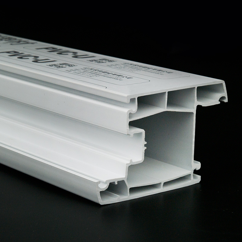 Plastic extrusion companies customer PVC/UPVC profile profiles for windows
