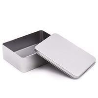 Wholesales Custom Square Metal Tin Box With Lid