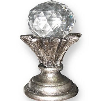 Crystal Finials For Curtain Rods Buy Glass Finials