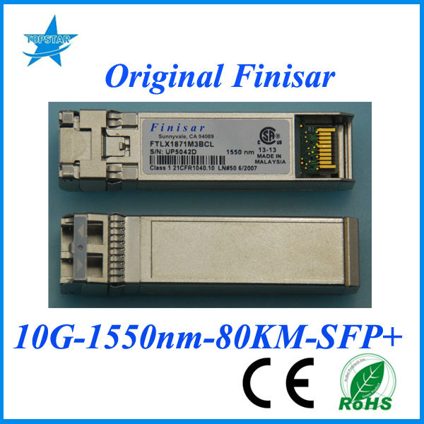 fiber optic led shoe laces Original Finisar FTLX1871M3BCL 10G 1550nm 80km optical module