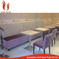Commercial Furniture Restaurant Booth Sofa Design