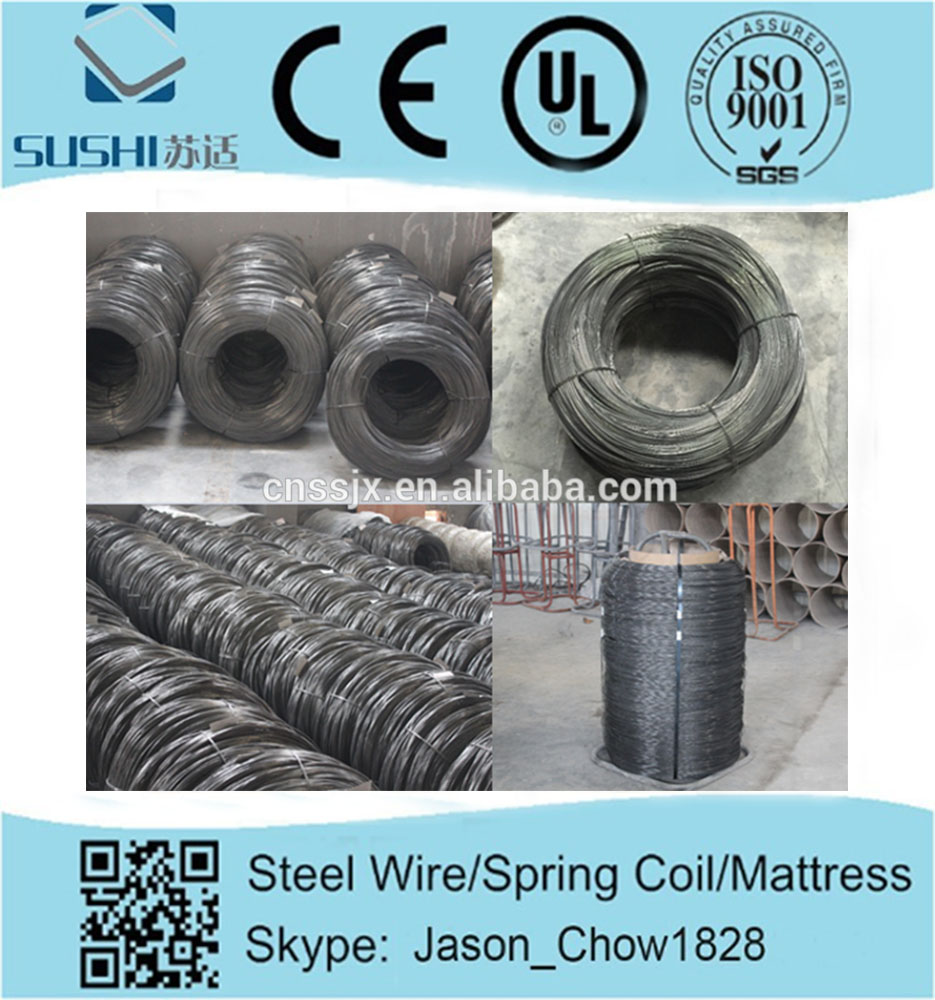 Factory direct price steel wire for mattress and sofa steel wire rope clamp