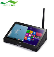 Original 7inch 1280*800 PIPO X8 Windows10 + Android 4.4 Dual Boot Intel Z3736F Quad Core Mini PC Tablet HD 2G RAM 32G/64G ROM