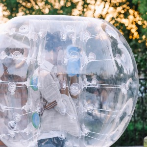 9KG Interesting Inflatable Body Zorb Football Play Game