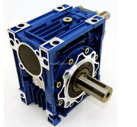 Right Angle Worm Gear Speed Reducer Gearbox in 60:1 Ratio 0.50Hp Non Flanged
