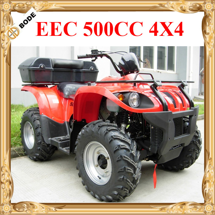 EEC Certified New 500cc Quad Atv Kawasaki