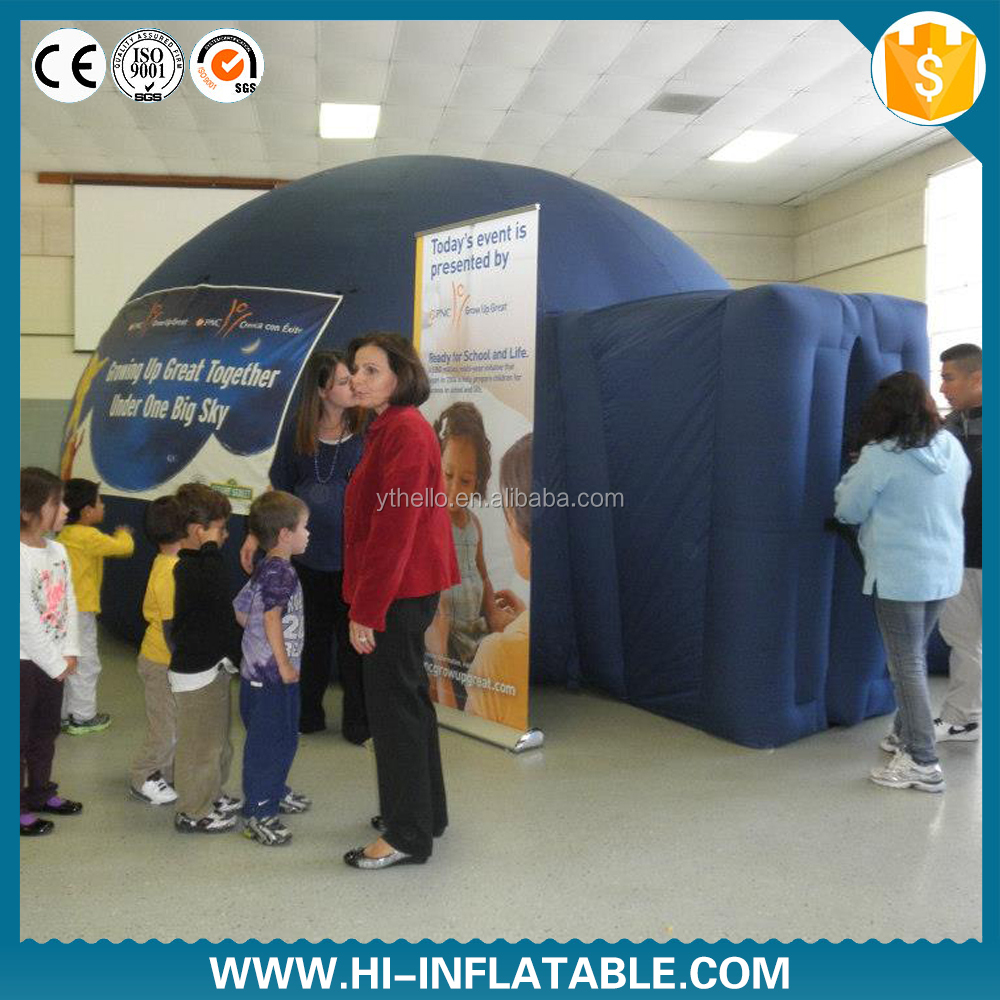 Hot sale inflatable projection dome igloo/diy polycarbonate greenhouse at factory price