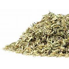 Herbs: Yarrow Flower and leaf herb mixed ~ Dried Organic Herb ~ 4 Oz ~ Ravenz Roost Herbs with Special Info on Label
