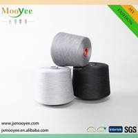 Mercerized Polyester viscose TR raw white yarn for textiles
