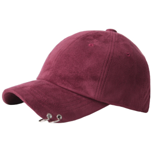 Wholesale 100 cotton baseballcap big suede running sports hats hit colour 3D embroidery baseball hat adjustable Metal buckle