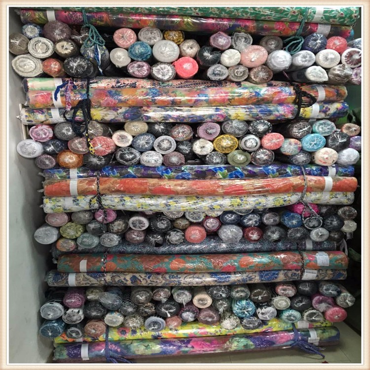 China Fabric 100%p Chiffon Printed Chiffon Fabric Stock Lot ...