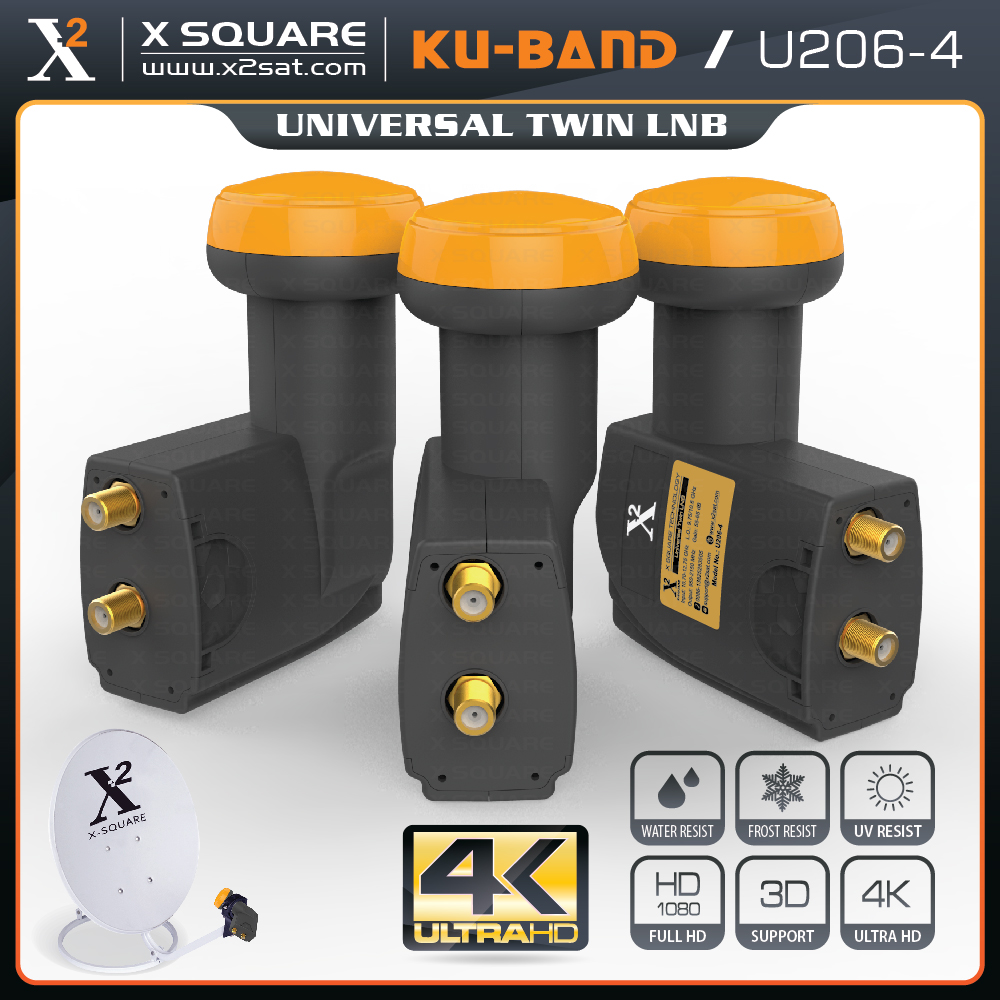 Strong Dual Ku Band Universal Twin Lnbf