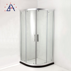 China Manufacturer Extruded Enclosure Frame Aluminium Profile for Glass Shower Doors