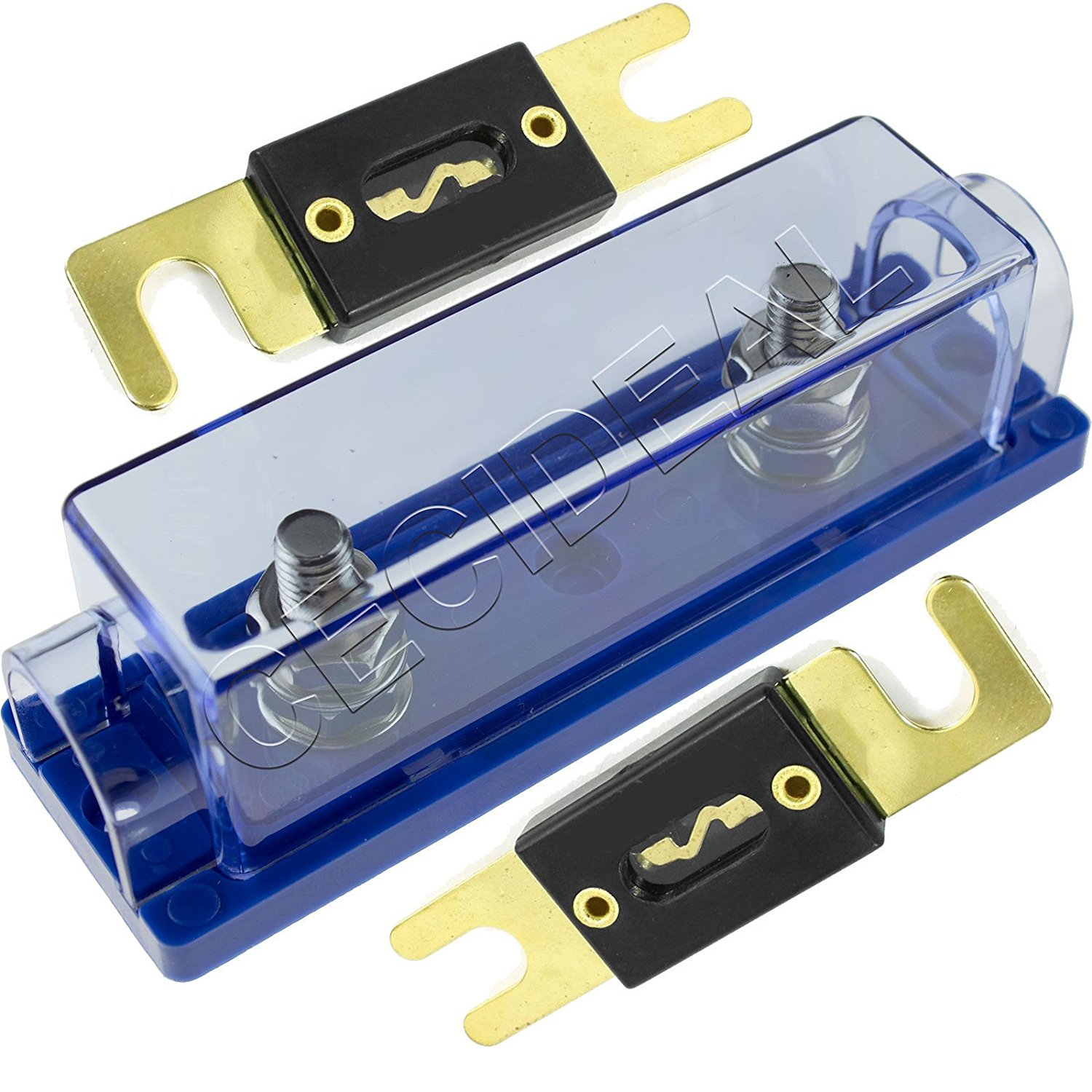Cheap 3 Amp Fuse Holder Find Deals On Line At 150 Box Get Quotations 1 0 4 8 Gauge Anl 2 Pack Gold