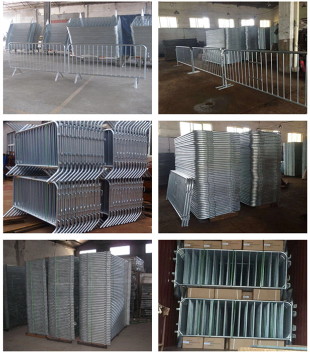 Hight Quality Metal Crowd Control Barrier