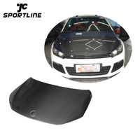 Car Carbon Fiber Engine Hood for Volkswagen Scirocco R 2.0 TSI