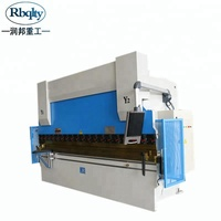 Cnc press brake bending machine WC67Y-100T/2500 factory supplier