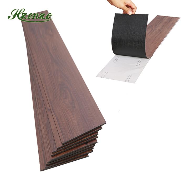 Alfombra de madera patrón tablas tablones de madera piel beige gris-tamaños diferentes