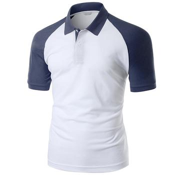 Custom raglan sleeve polo shirt two color design buy for Custom printed polo shirts cheap
