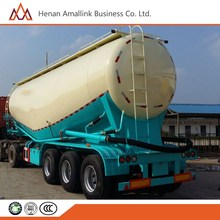 Hot selling 50-73cbm bulk cement semi trailer 60T tanker for sale