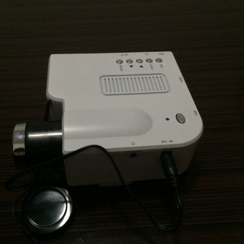 Hot sale mini projector cheap and small led projector 4000 lumens with VGA HDMI port factory wholesale
