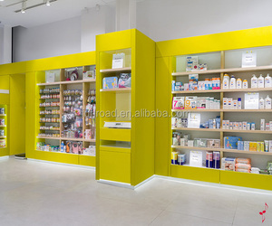 High Quality Creative Pharmacy Shelf In Retail Pharmacy Store furniture
