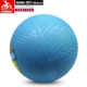 Top selling blue inflatable 10 inch rubber playground ball