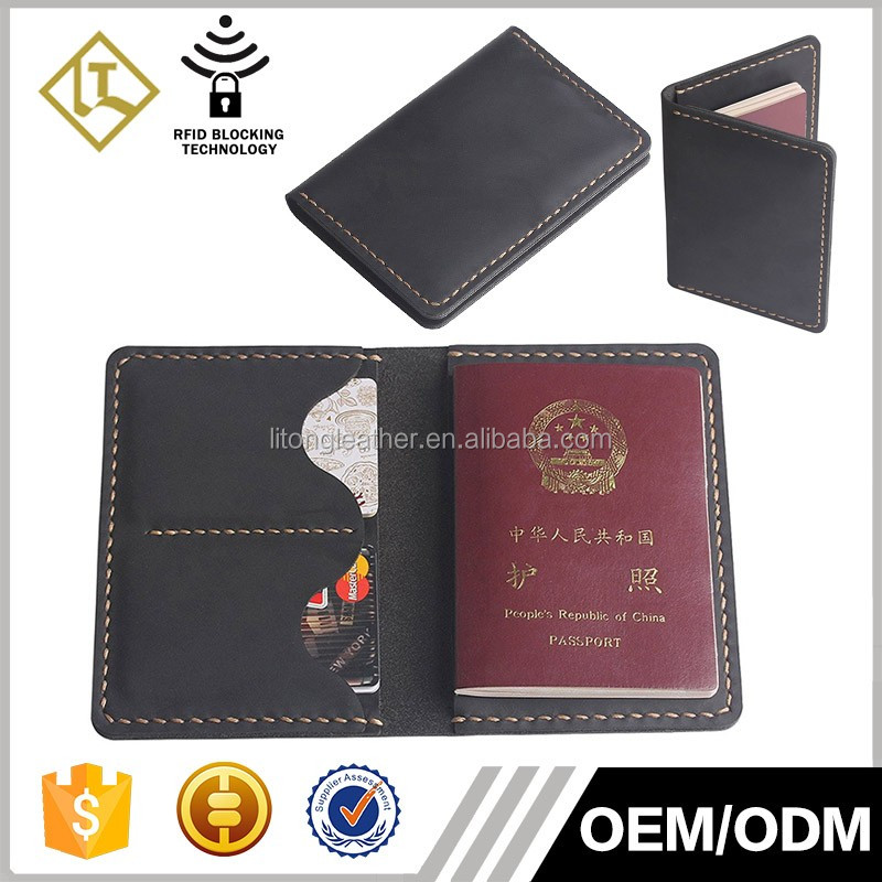 New selling Amazon cute card leather wallet travel passport wallet with cards holder