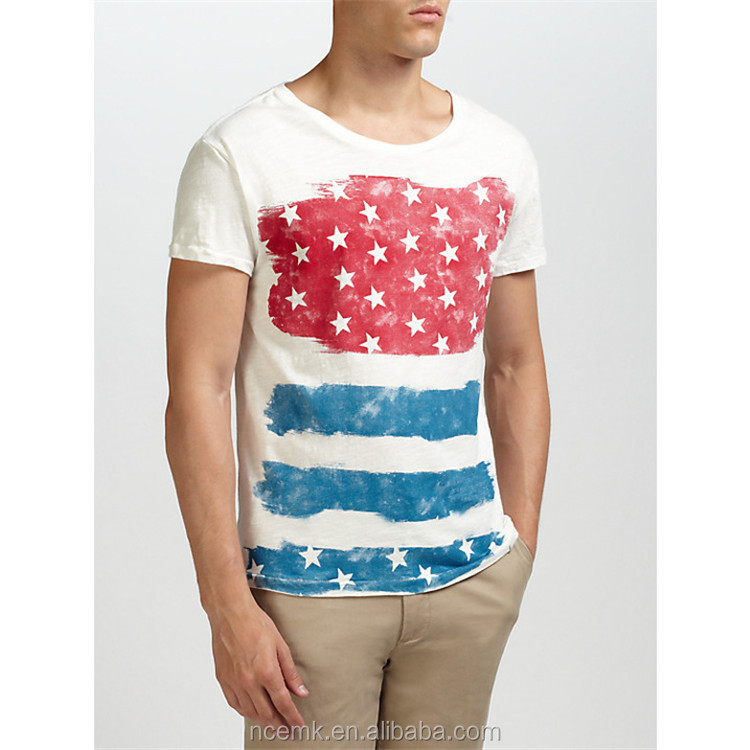 Usa Flag Print T Shirt Mens New York Wholesale T Shirts Design - Buy ... d3f920d67f8