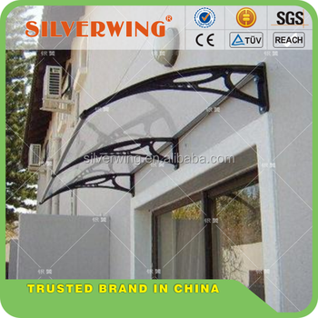 Outdoor Polycarbonate DIY Cantilever Canopy / Garden Shed/Shelter/Walkways & Outdoor Polycarbonate Diy Cantilever Canopy / Garden Shed/shelter ...