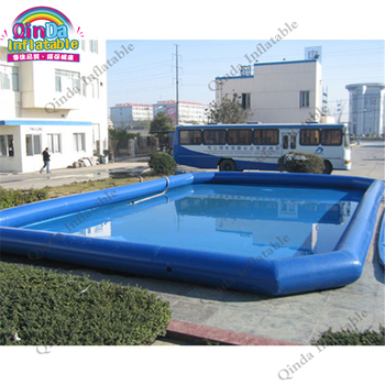 Pvc material and plastic inflatable square swimming pool - Above ground swimming pool rental ...