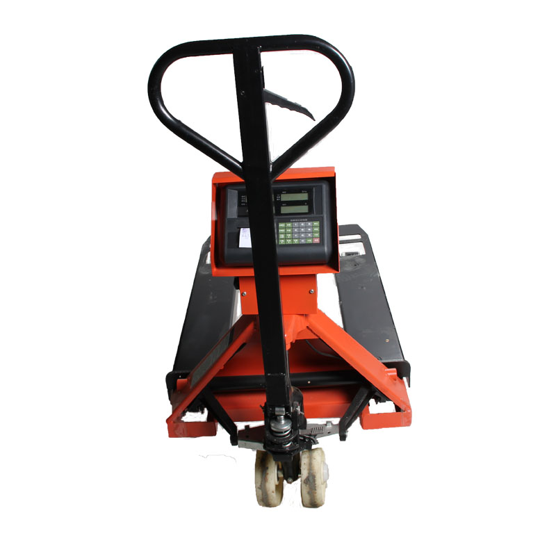 High Precision Heavy Duty Weighing Pallet Truck Scales 1t