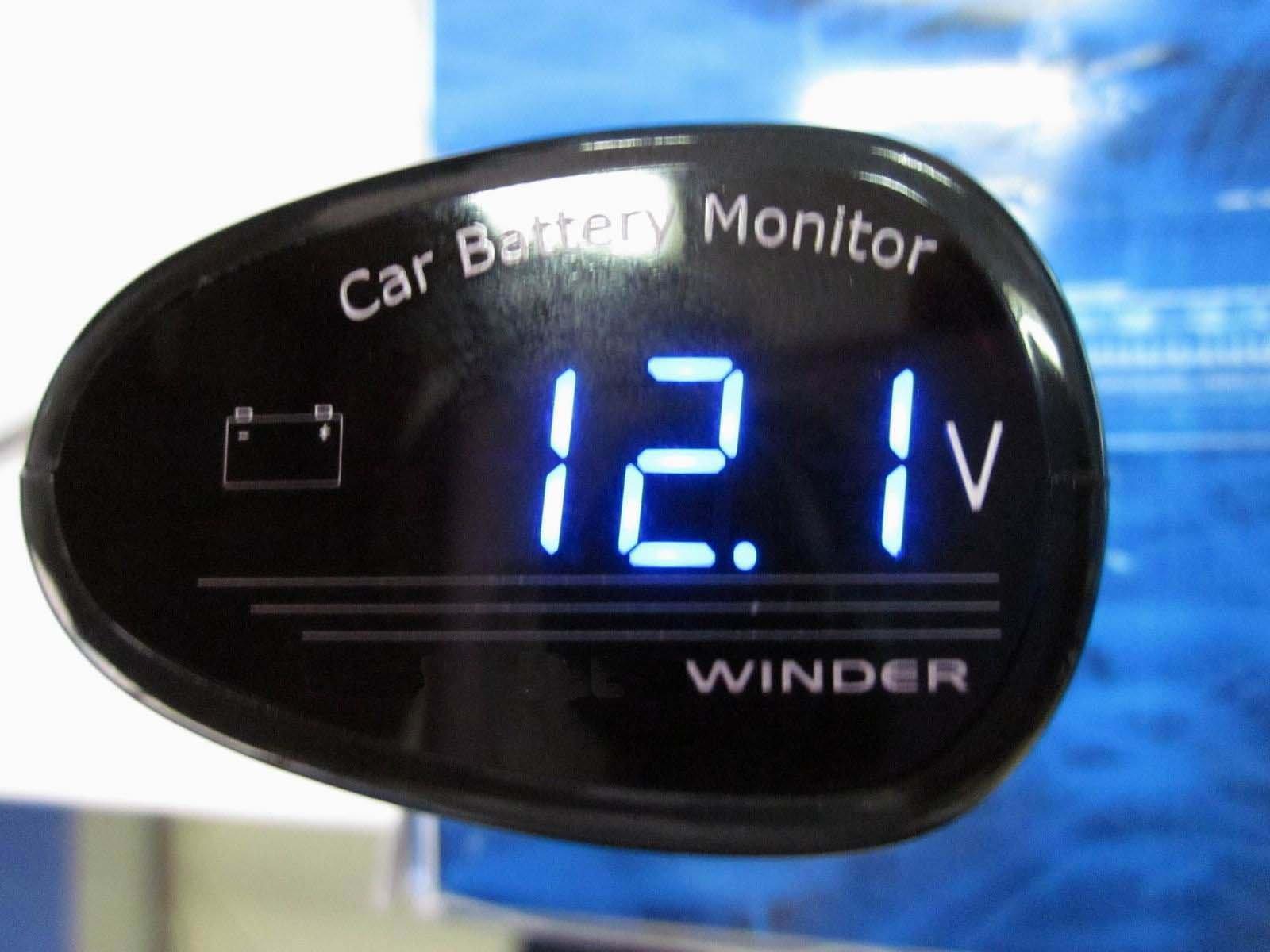 LED Digital Car Volt Voltage Meter Battery Vehicle Car 12v 24v Battery Voltage Meter Monitor Tester Checker