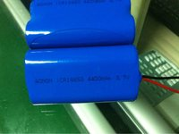 3.7V 3400mAh Rechargeable Li-ion Battery Flat Top Battery pack