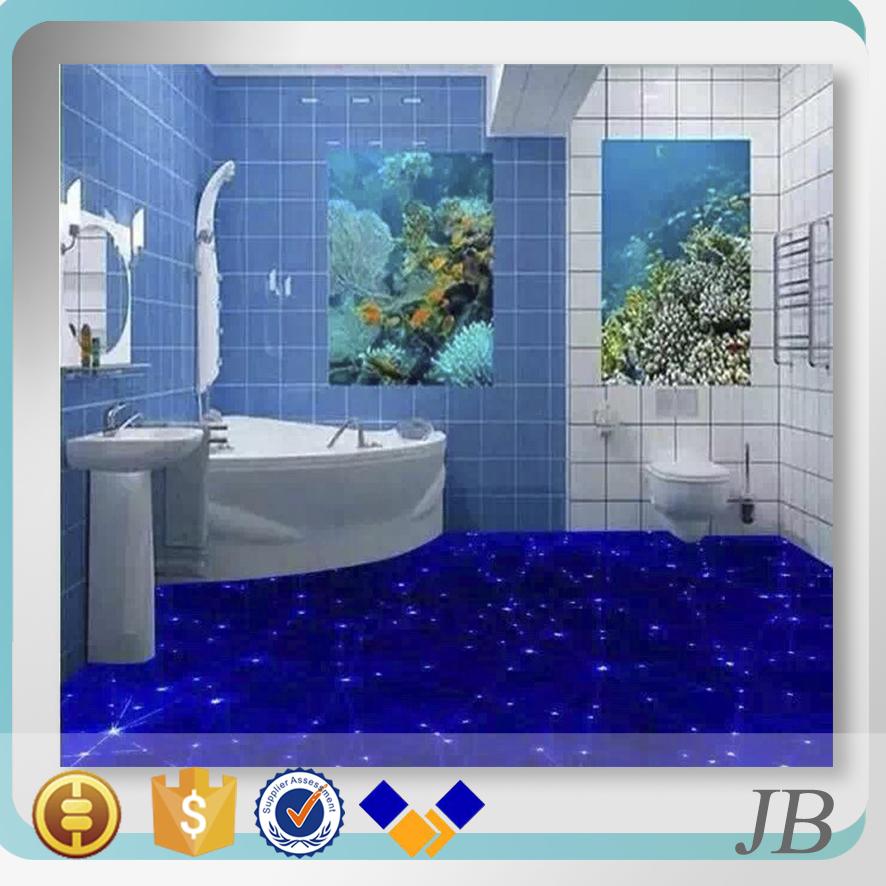 Papel de pared 3d piso 60x60 y decorativo azulejo de la for Pisos decorativos 3d
