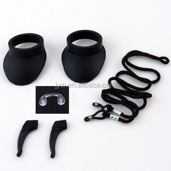 Silicone Materials Temple Tips For Fishing Glasses