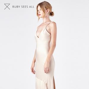 94455a9058 Hot Sales cloths women night silk slip dress