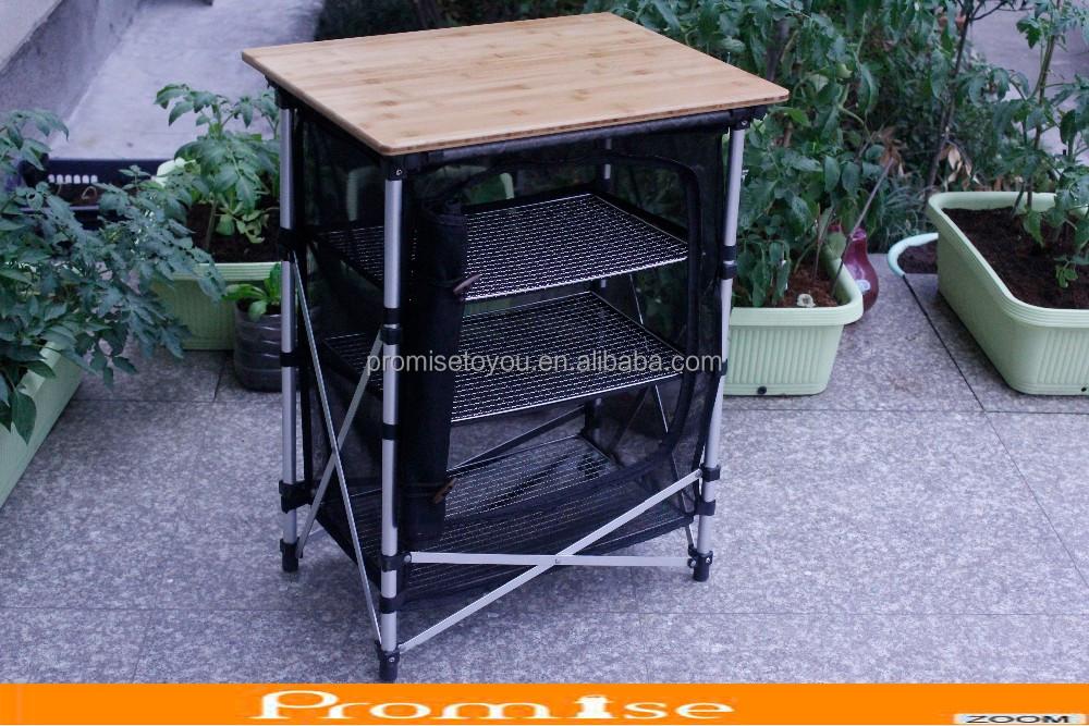 Maglia di alluminio tavolo da cucina/campeggio tavolo da cucina ...