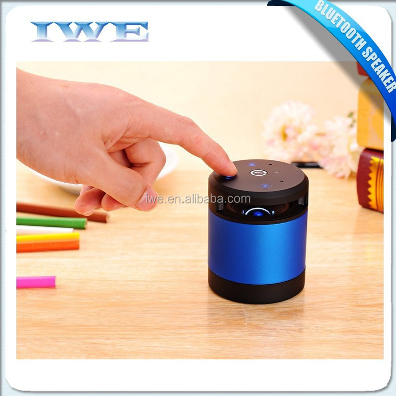 2015 Best super bass bluetooth mp3 speaker with hand gesture recognition technology