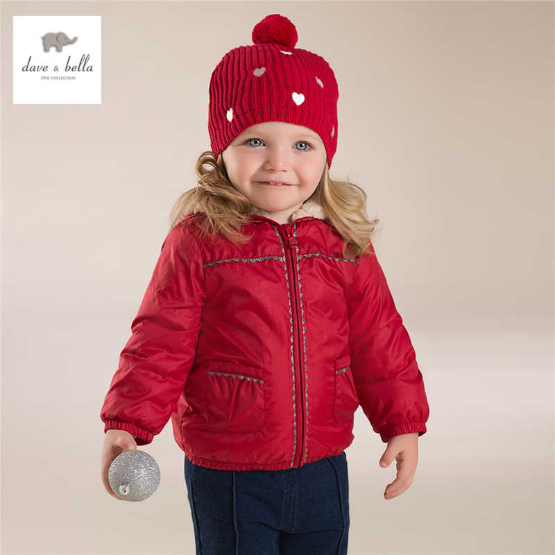 971e3817bd87 Db4267 Dave Bella Baby Girls Red Coat Boutique Clothes Fancy Coat ...