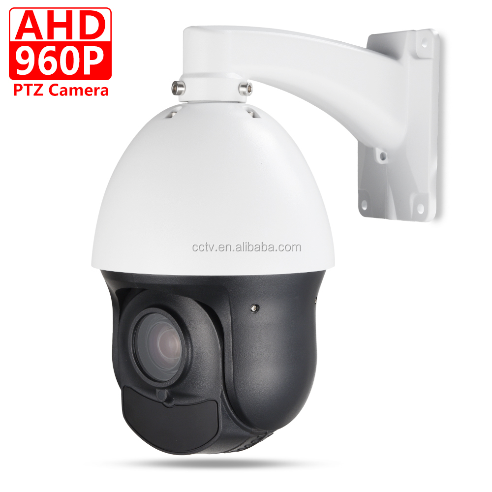 "CCTV IP66 Outdoor Security 4"" MINI Speed Dome AHD 960P PTZ Camera Coaxial PTZ Control 20X Zoom Auto Focus IR 100M"