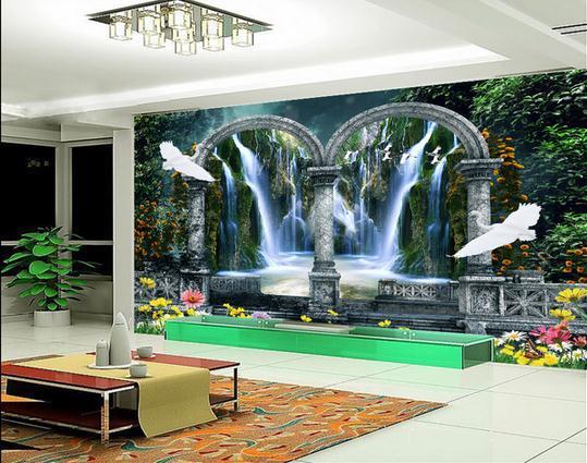 Custom 3d Photo Wallpaper 3d Wall Murals Wallpaper Hd: New Large Wallpaper Custom Wallpaper Garden 3D
