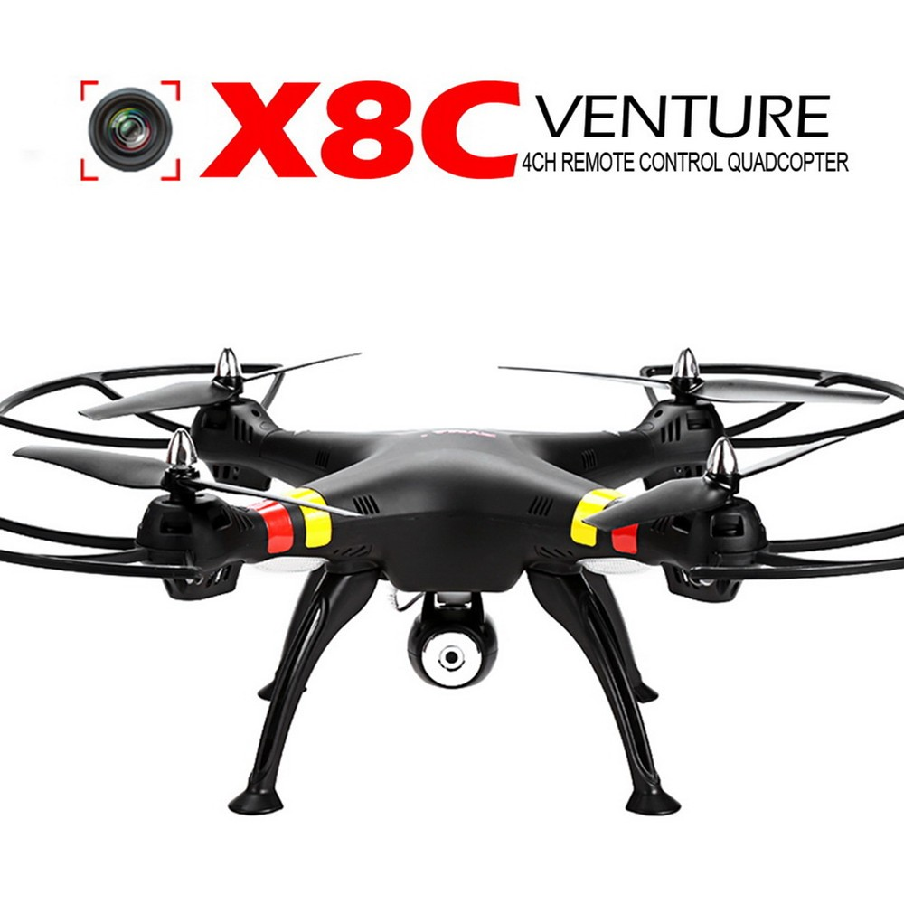 2016 toys Version Syma X8C X8W 2.4G Venture Drone with 2MP Wide Angle Camera Rc Quadcopter