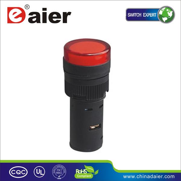 Indicator Light Pilot Lamp Signal Lamp Ad16-16c